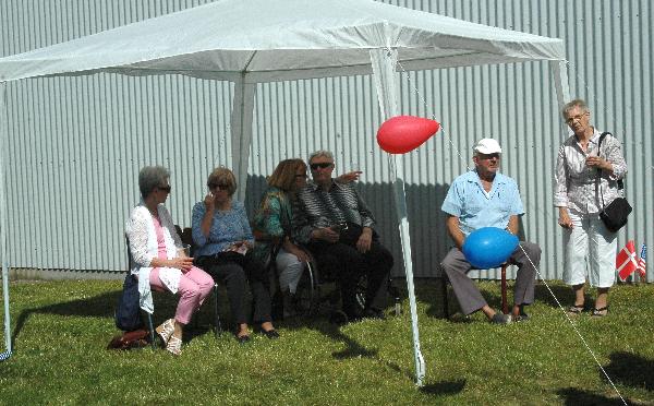 Billeder fra årets Gardenparty