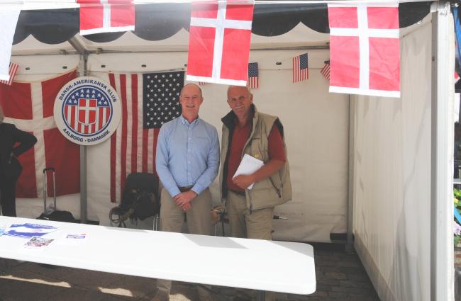 Niels og Flemming klar til at tage imod nye medlemmer