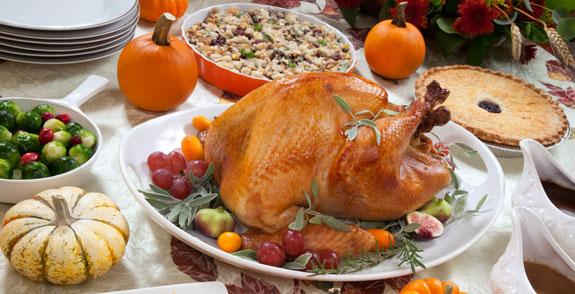 Indbydelse til Thanksgiving Dinner