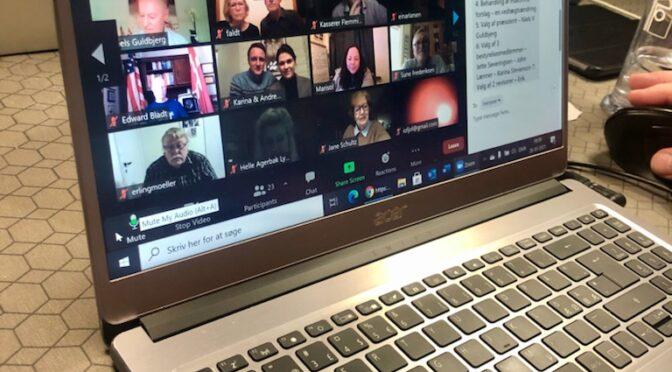 DAK's først virtuelle generalforsamling